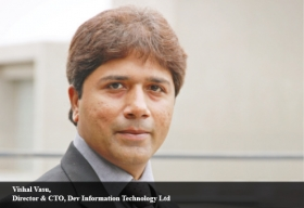 Vishal Vasu, Director & CTO, Dev Information Technology Ltd